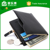 2017 Yiwu manufacture fashion multi-function leather cheap price wallet for men