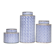 New chinese classic blue and white porcelain multi-functional pottery jar from Jingdezhen