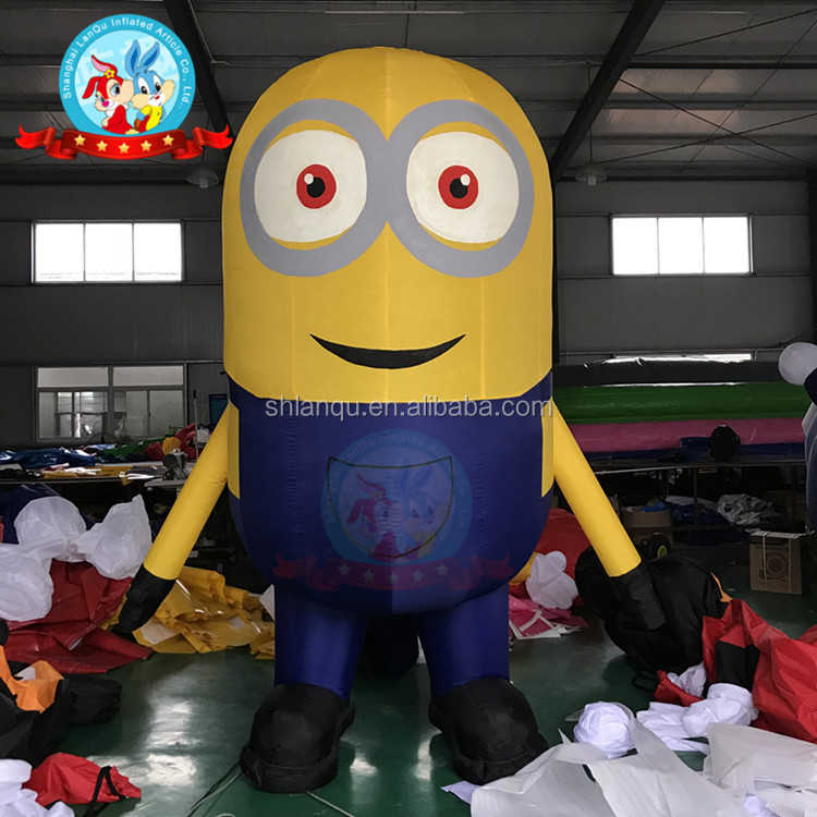 cartoon inflatable minions model inflatable cartoon characters
