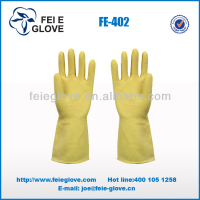 hand work industrial rubber safety gloves