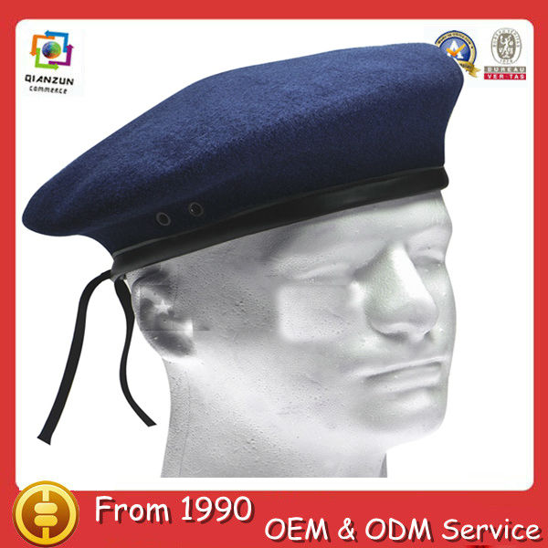 Custom design new style navy army beret caps fashion beret hat mens beret hats