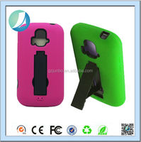 kickstand Hybrid Shockproof Case For Zte Z740