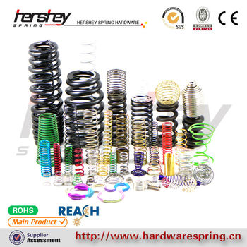 0.08~10mm wire precise spring large spring supplier, various of compression spring seller