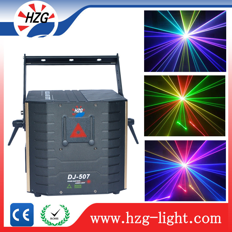 Pro Sound System Stage Lighting Equipment 3 Watt Rgb Laser Projector laser christmas lights