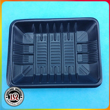 Disposable Plastic Black Soft Meat Tray