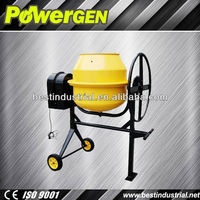 Top Seller!!! POWER-GEN Reliable Construction Machinery Diesel Engine 160L portable Concrete Mixer