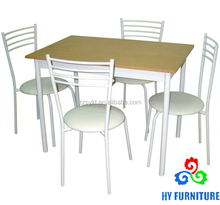 Dining table set dining room furniture table and chairs wholesale