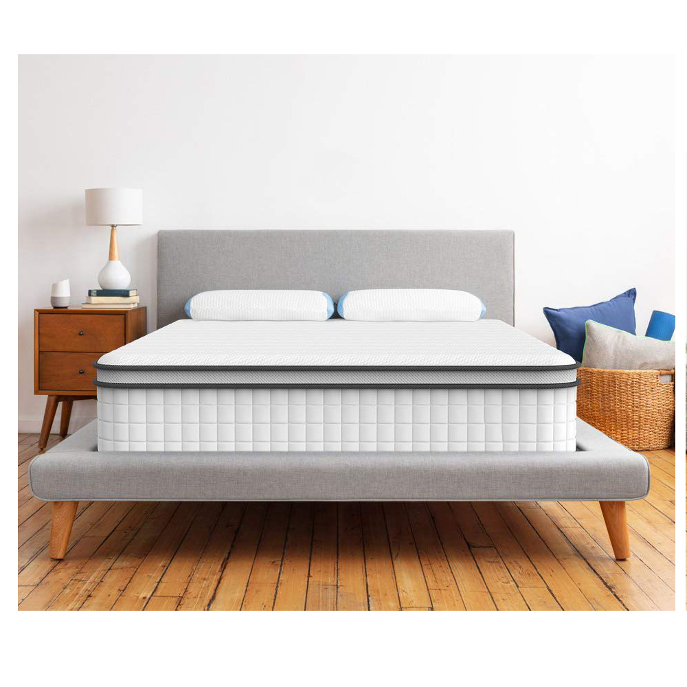 10inch Sleep Cooler With Pressure Relief&Support Hybrid Innerspring Single Mattress - Jozy Mattress | Jozy.net