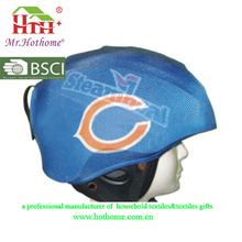 Spandex Fabric Waterproof Helmet Cover with Pattern