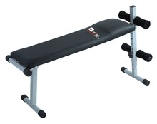 Adjustable Incline/Height & Leg Support Padded Backrest Sit Up Ab Bench SUB50 Flat Weight Bench