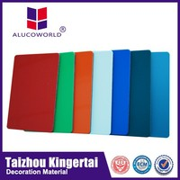 Alucoworld Aluminum Composite Panel products building material acm walls panels for rv