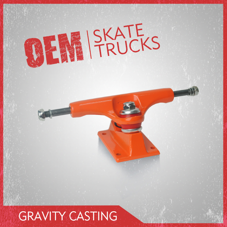 High Quality Gravity Casting 5inch cruiser skateboard truck