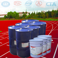 Environmental Silicon polyurethane liquid single component glue for running track