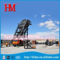 HM Brand For 20 Years Experience New Mobile Asphalt Mixing Plant/Twin-shaft Asphalt Mixer/Asphalt Batching Plant