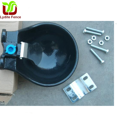 Cast Iron Plastic and Stainless Steel Water Bowl For Cow Drinking Bowl for Cattle
