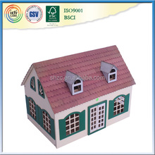 Very unqiue and beautiful wooden play house,love toy