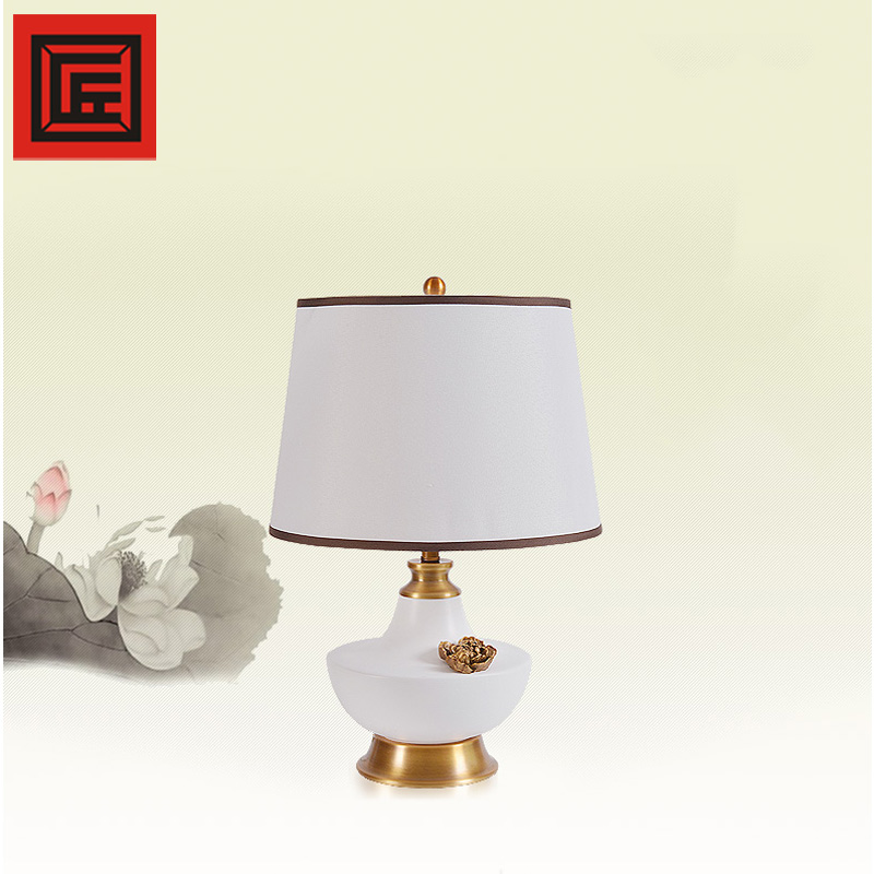 restaurant table lamp, classic design table lamp for China style hotel decoration E27 JIANGZE
