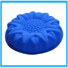 Silicone Flower Cake Mold Big Flower Silicone Bakeware Mould Pan Bakeware Cupcake Mold
