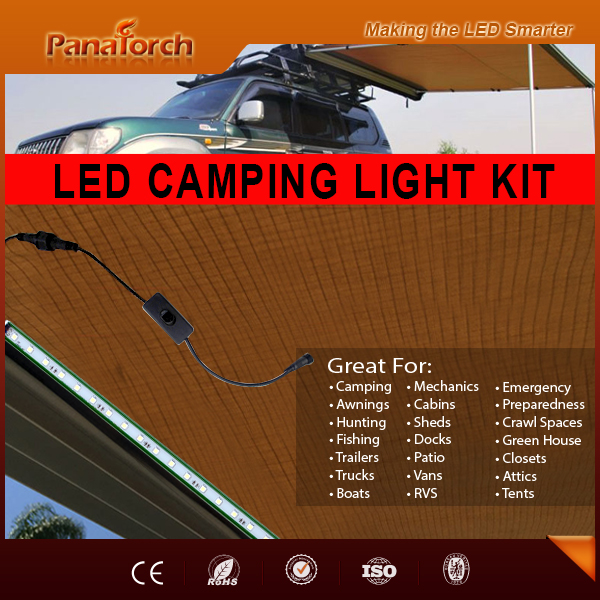 Private Design 480lm C5530A-1 Camping Dimmer LED Light Kitwith Color Box ODM Logo