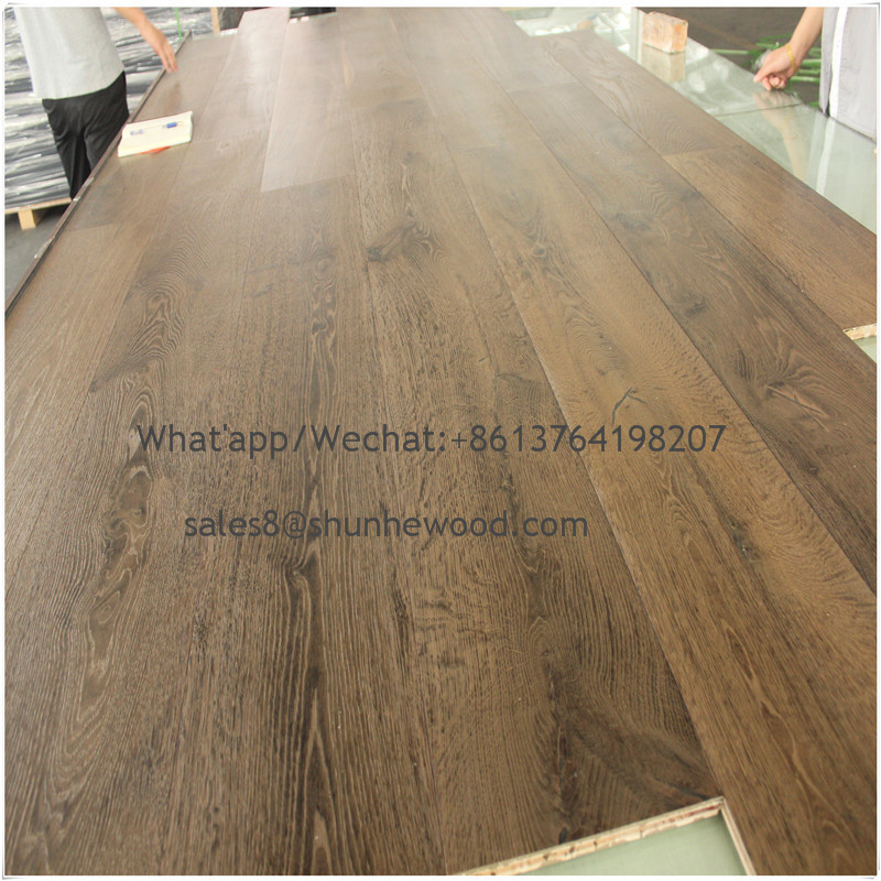 Direct buy multi core unilin click white oak engineered hard wood flooring
