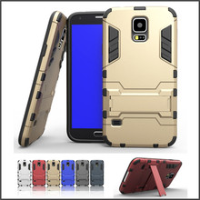 Hot Selling PC Silicon Pattern Mobile Phone Case For Samsung S5 Wholesales PC Silicon Cell Phone Cover for Samsung S5