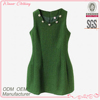 Classical fashion hot sale summer apple green dresses