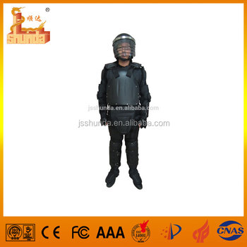 Anti-riot gear body armor for police and military