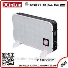 Manufacturer Newest Design For 2017 High Quality room space heaters with 24 hours timer
