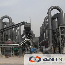 Zenith hot sale calcium carbonate pulverizer with large capacity