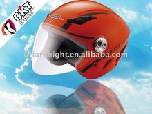DOT ECE motorcycle open-face helmet