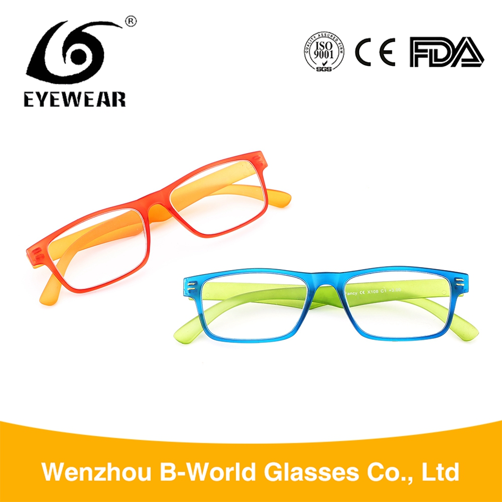 Wholesale classic style cheapest clear frame reading glasses
