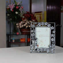 happy birthday photo frame , picture frame heart-shape photo frame , metal embossed photo frame HQ070032-35