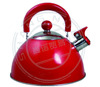 fashion red Whistling Tea Pot