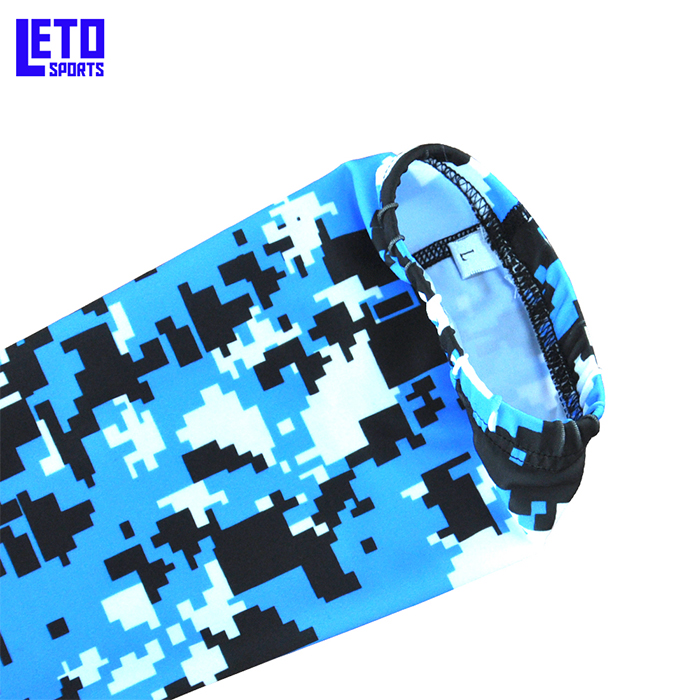 Sublimation Print Youth UV Protection Compression Arm Sleeve
