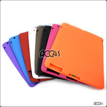 Solid 2Tone Color Case Covers Silicone Skin Case Cover for The New iPAD P-iPAD3SC2T001