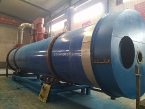 FREE Installation and Training! Turnkey Service Rotary Drum Type Cassava Dregs Dryer!