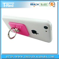 OEM patterns plastic cell phone stand 360 degree rotation