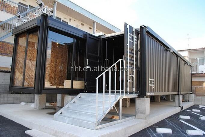 Prefabricated Shipping Container Motel In Canada For Luxurious Design