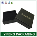 Guangzhou Supplier Cardboard Paper Luxury Black Jewelry Box Organizer