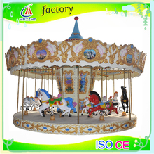 Funfair games! amusement musical used merry go round for sale carousel horse