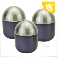 Round Galvanized Steel Metal Food Storage Canister