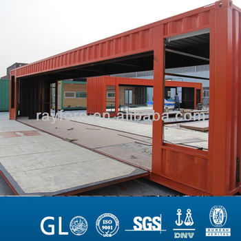 movable 20ft living container house