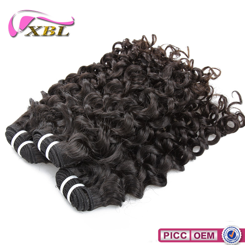 XBL Wholesale Hot Selling Jerry Curl Indian Human Hair for Black Women