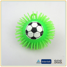 Gravim Soccer shaped crazy magic puffer balls toys