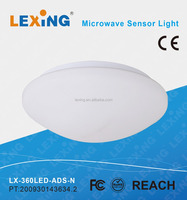 ceiling led microwave sensor lamp with emergency function