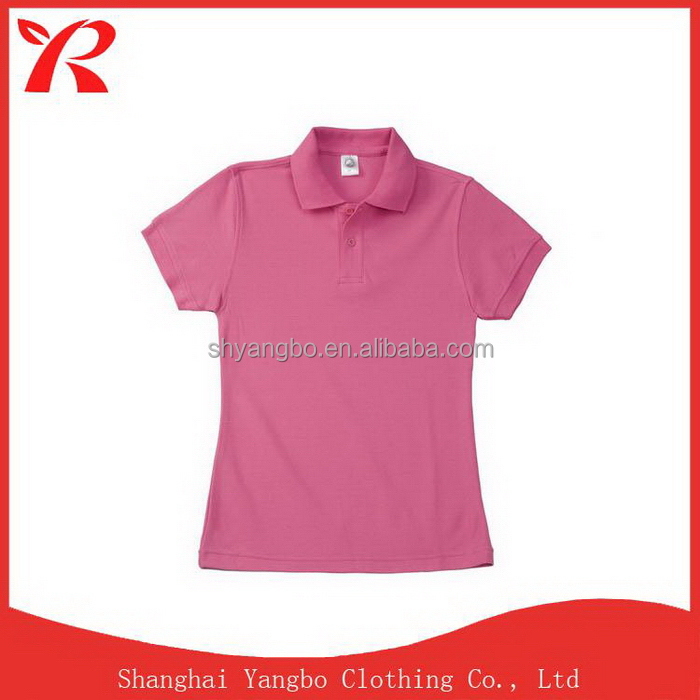 Customized new products economic body fit polo shirt for men and women