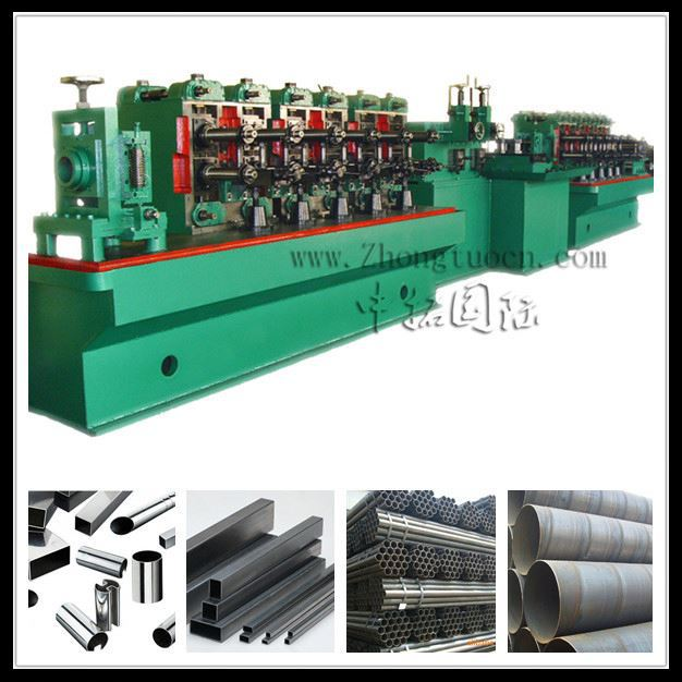 welded tube roll former mill,High frequency straight seam weld pipe roll forming machine