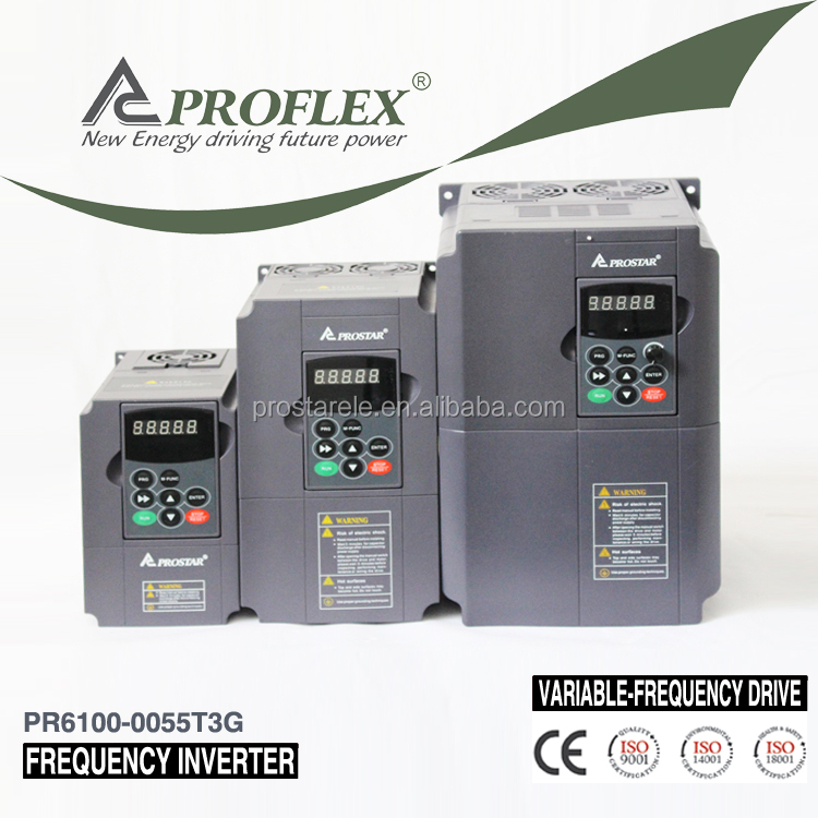 proflex 5.5kw CE Approved VFD, AC motor drive / variable frequency inverter for Russian market