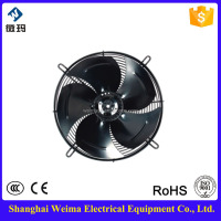 Shanghai 350mm Axial Flow Fan For Condenser And Evaporator