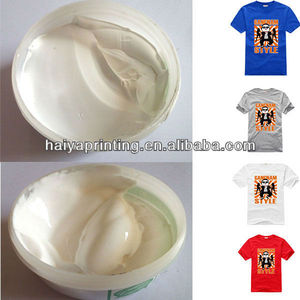 elastic clear mucilage glue for t-shirt